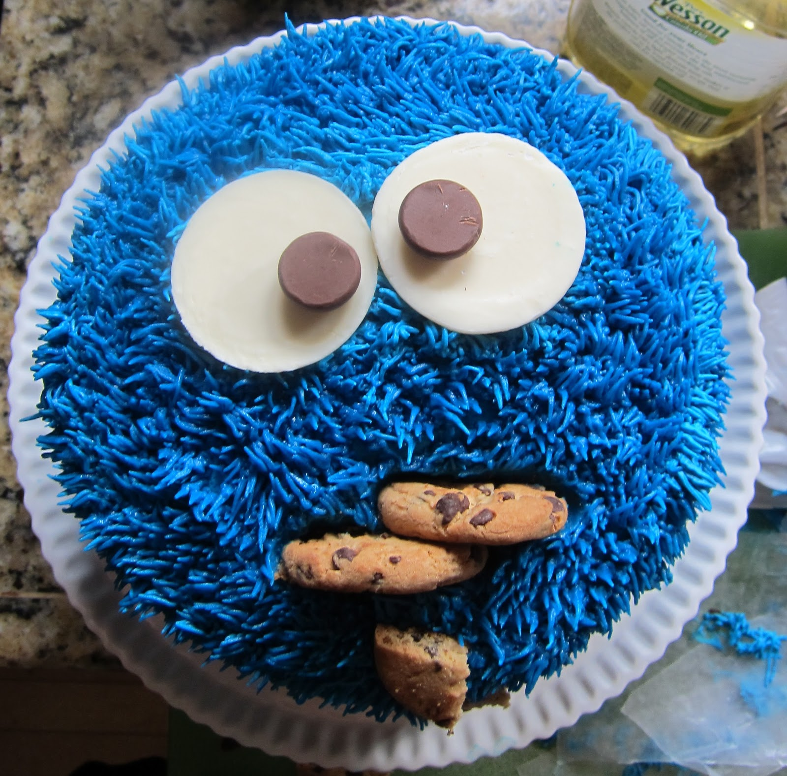 Cookie Monster Cake Ludus Domesticus