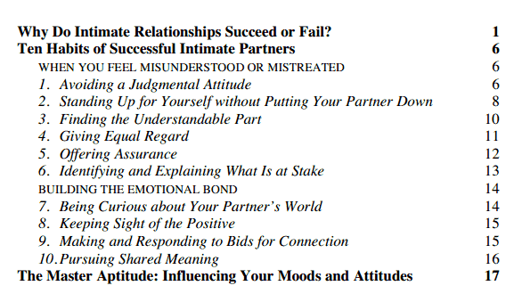 Couples Counseling – Relationship Therapy Worksheets
