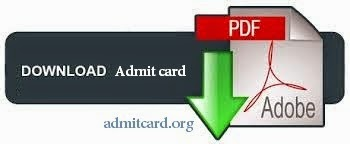 Nuclear Fuel Complex Admit Card 2014