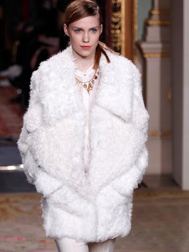 Кожено палто от агнешки кожи Antonio Berardi