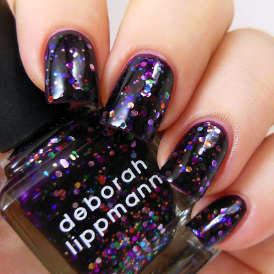 Deborah Lippmann Let's Go Crazy swatch