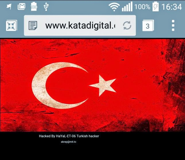 Kata Digital Philippines Website Hacked