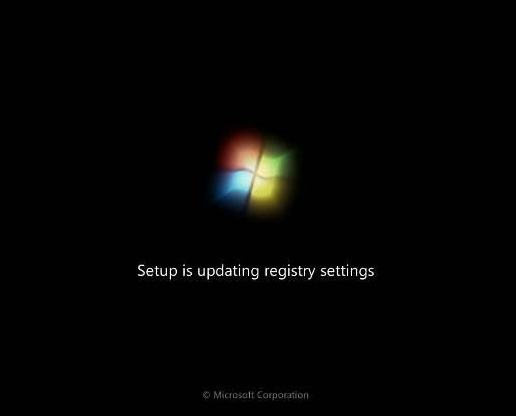 cara instal windows 7 update registry setting