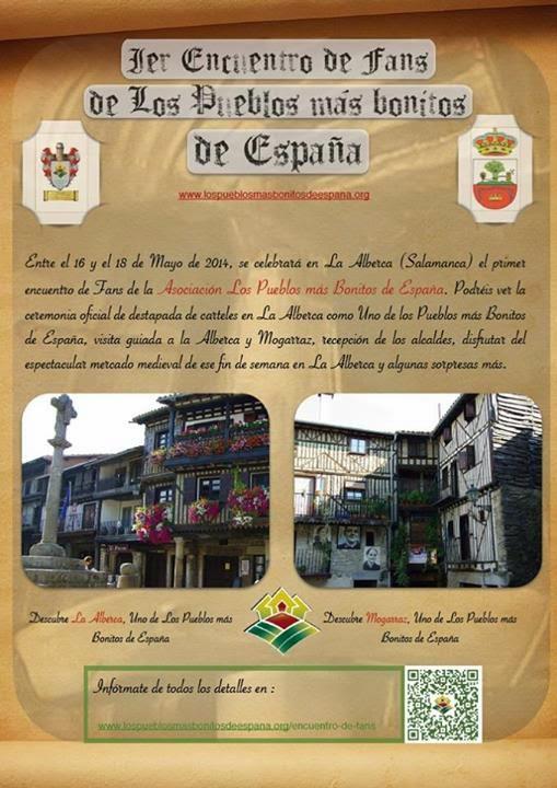 16/mayo. Visita turística. Alberca.Mogarraz