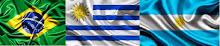 ROTA:  BRASIL -  U RUGUAI - ARGENTINA