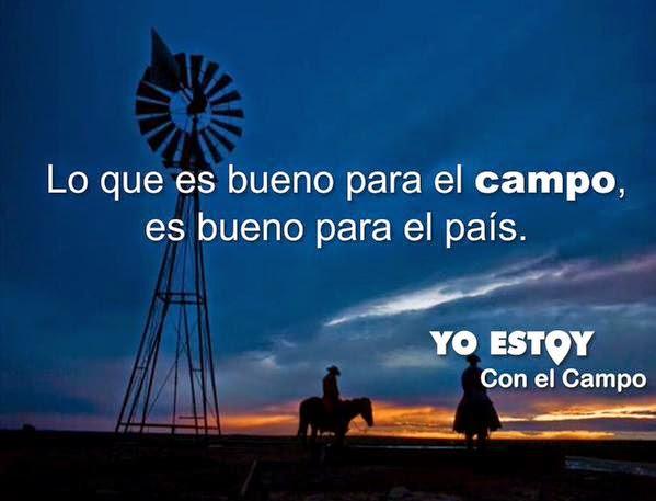 Yo Estoy Con El Campo.