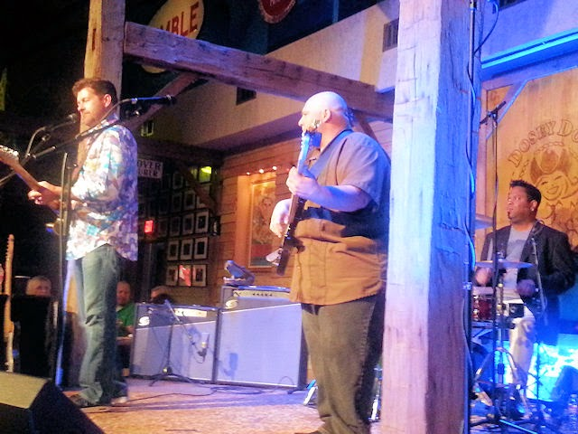 Tab Benoit at Dosey Doe's in The Woodlands, TX