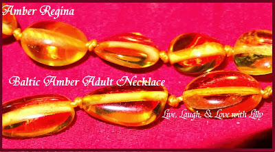 Live, Laugh, Love with Lilly, Amber Regina Review, Blatic Amber, Adult Amber Yellow