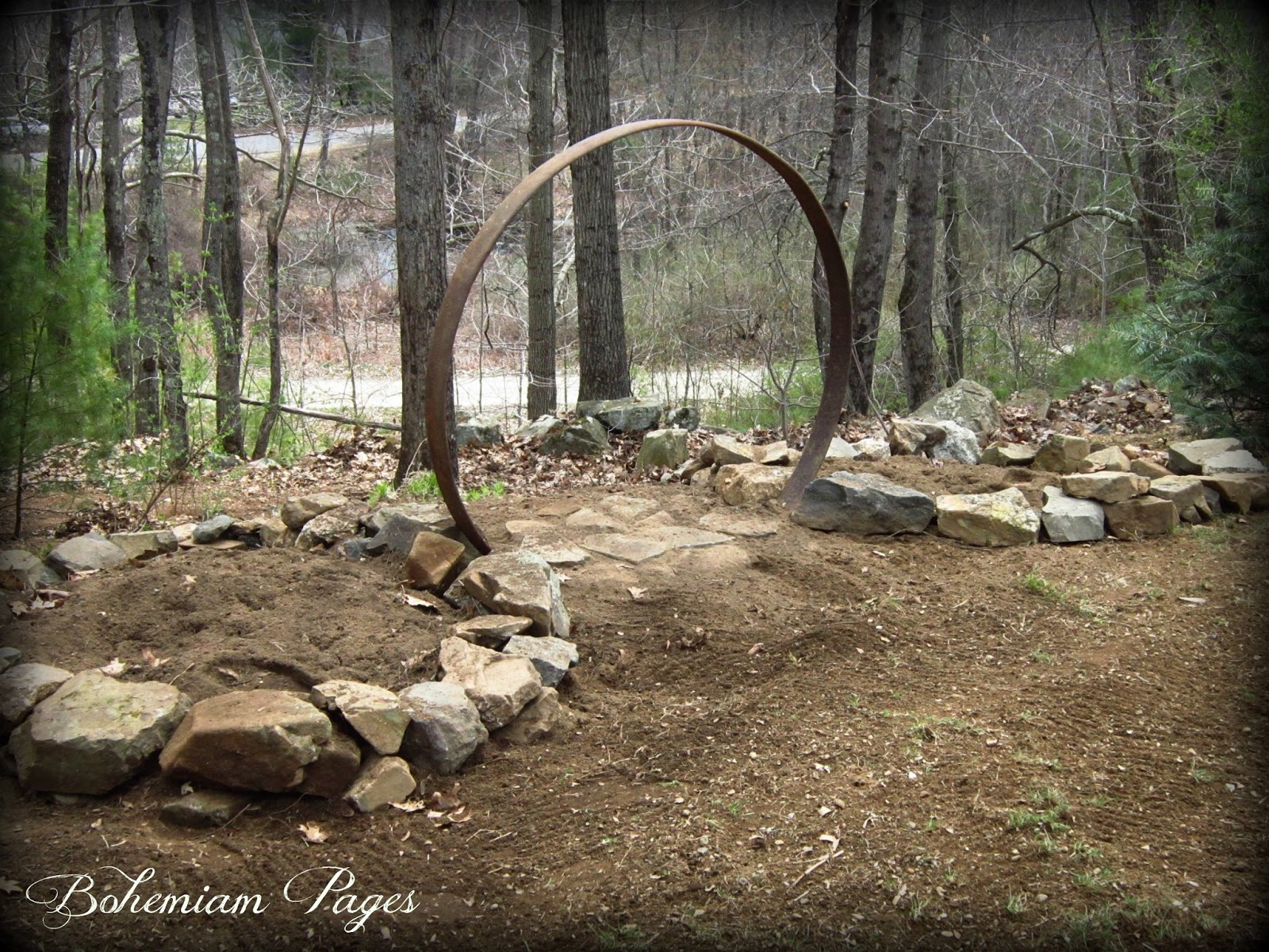 Bohemian pages moon gate gardens for Moon garden designs