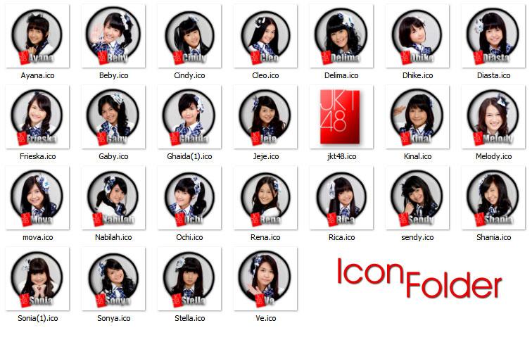Download JKT48 Icon Folder All Member