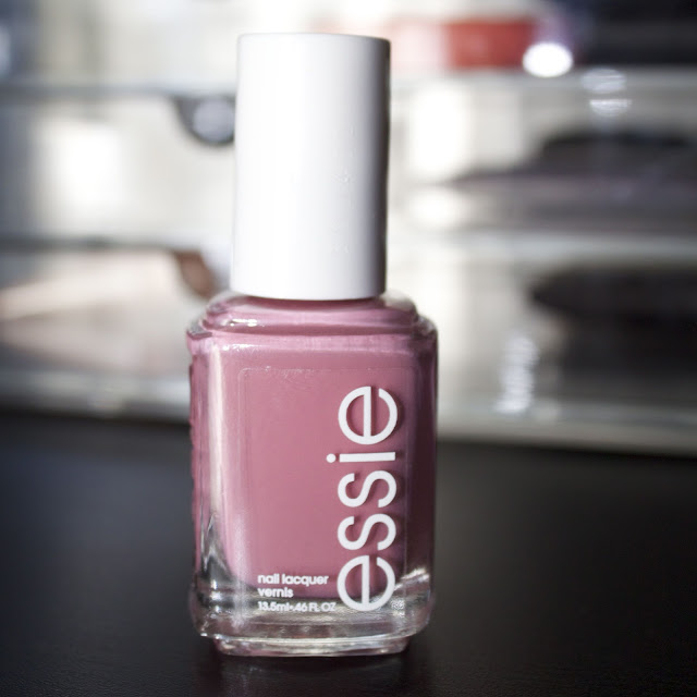 essie marathin nail polish yogaga 2012 collection dusty rose