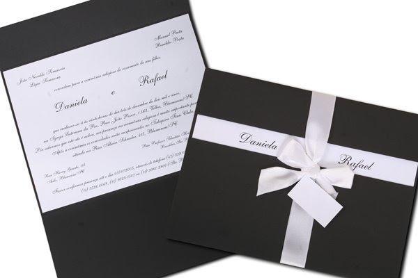 Antenadus Convites De Casamento Simples E Barato