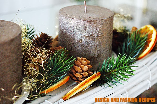 Il centrotavola per le feste di natale on Design and fashion recipes