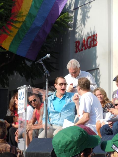Carson Kressley AIDS Walk LA