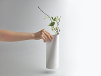 Tyvek Vase by Jiwon Choi