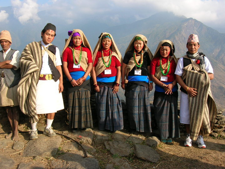 Local fashion: Traditional costume of Nepal