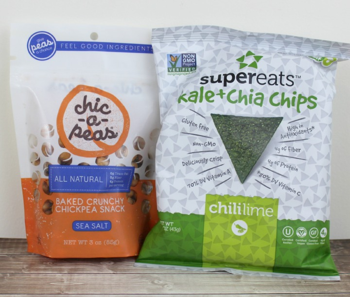 Chic-a-Peas Sea Salt SuperEats Kale + Chia Chips in Chili Lime
