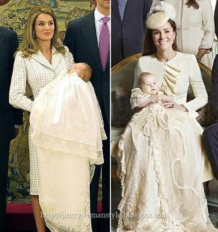 Летисия Ортис и Кейт Мидълтън майки на кралските наследници