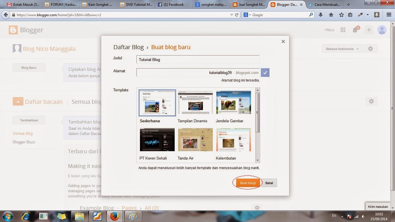blog, membuat, gratis, cara, langkah