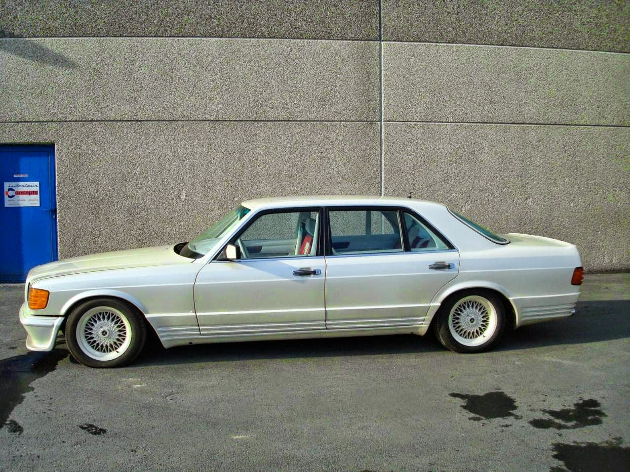 Mercedes benz w126 500sel sbarro benztuning for Mercedes benz w126