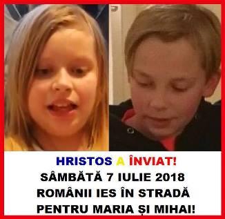 Protestul românilor pentru Mihai și Maria Smicală la Madrid, Iași, Cluj-Napoca și Piatra Neamț‼️