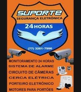 SUPORTE SEGURANÇA ELETRONICA