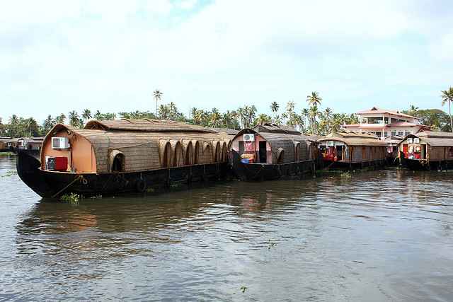 live house boat life in kerla india, visit kerala