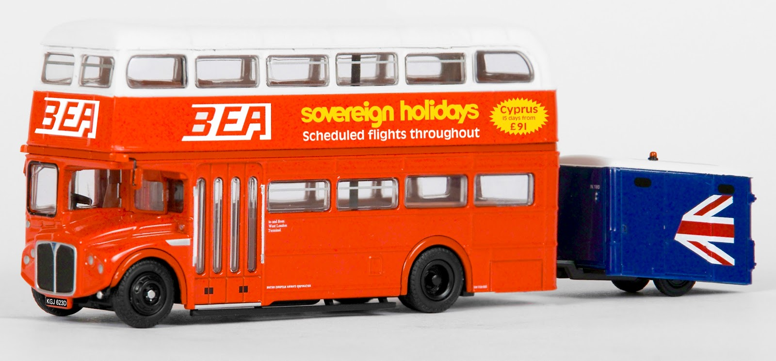 EXCLUSIVE FIRST EDITIONS 36204 RMA ROUTEMASTER BEA