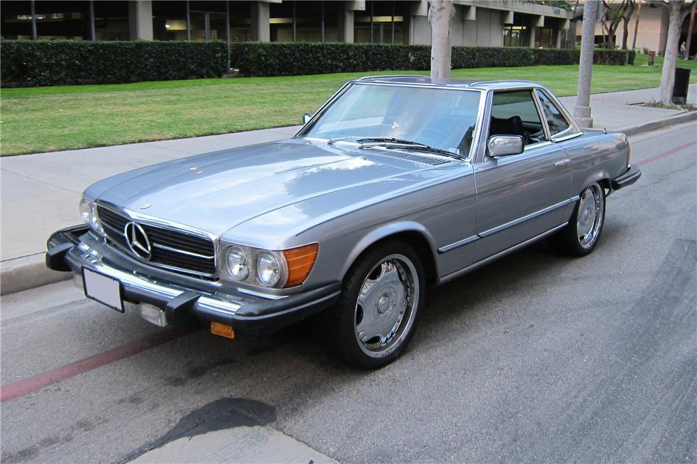 Urban pontifficater older mercedes benz 450 sl and 560 sl for Mercedes benz 450sl 1978
