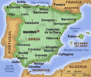 EP spain map