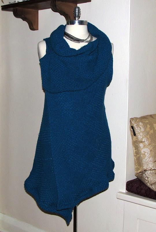 Arm Knitting Vest : Wobisobi sweater vest wrap diy