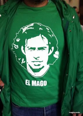 Maglia verde camiseta vald via el mago - Mago ma bel ...