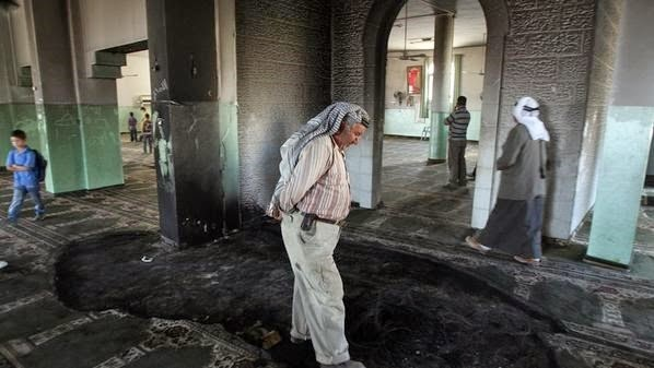 "Pemukim ekstrimis ""Israel"" membakar masjid di Bethlehem"