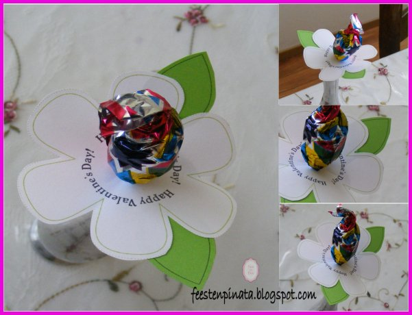 Paleta de flor feest en pi ata for Paletas de cocina decoradas