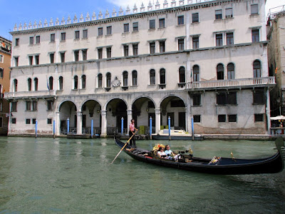Canal Grande, Fontego dei Tedeschi, Photo by Gunther H.G. Geick