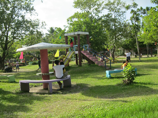 Playground at Sabang Beach Resort in Bulan, Bicolandia