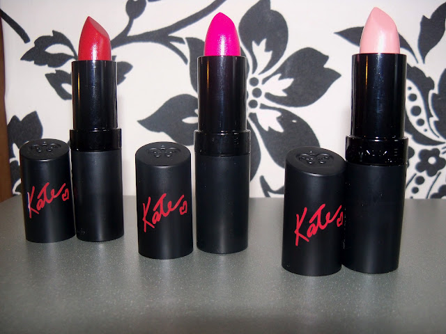 Rimmel - Kate Moss Lipstick Collection Shade 01, 02, 03