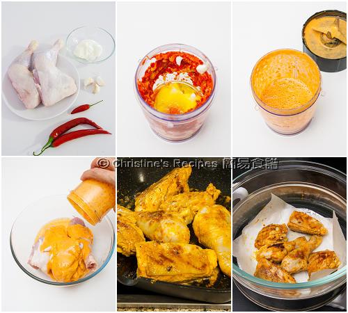 霹靂霹靂烤雞製作圖 Piripiri Chicken Procedures