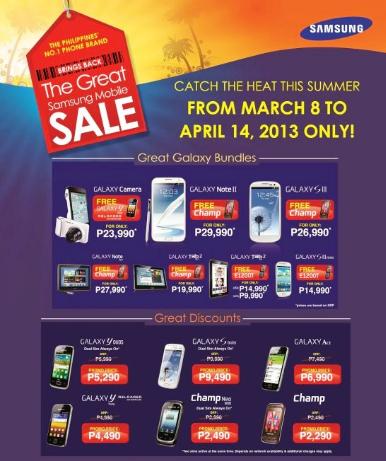 Great Samsung Sale 2013