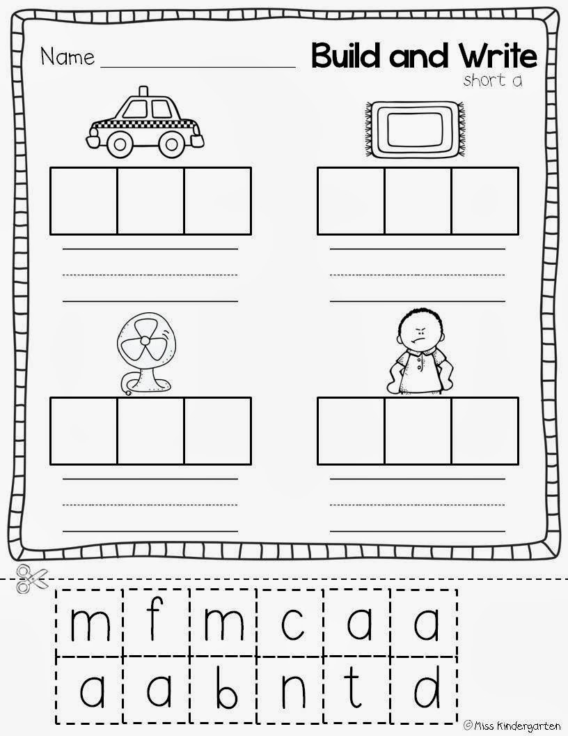 Worksheets Cvc Worksheets cvc worksheet new 257 onset and rime worksheets super kindergarten miss practice