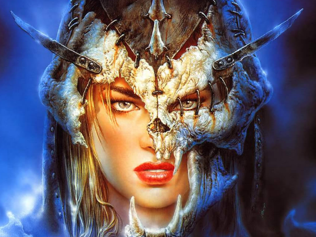I love you earth art collection by luis royo - 3d fantasy wallpaper ...