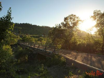 Pod de lemn la Toplita