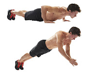 Cara Membentuk Otot Dada, Plyometric Push Up