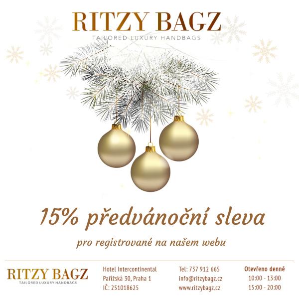 nečekejte na vánoční výprodeje a užijte si slevu 15% již nyní