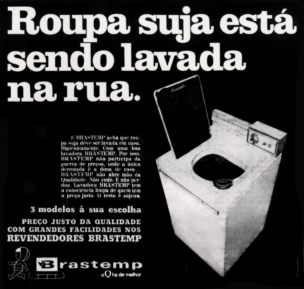 propaganda década de 70; História dos anos 70; Brazil in the 70s.