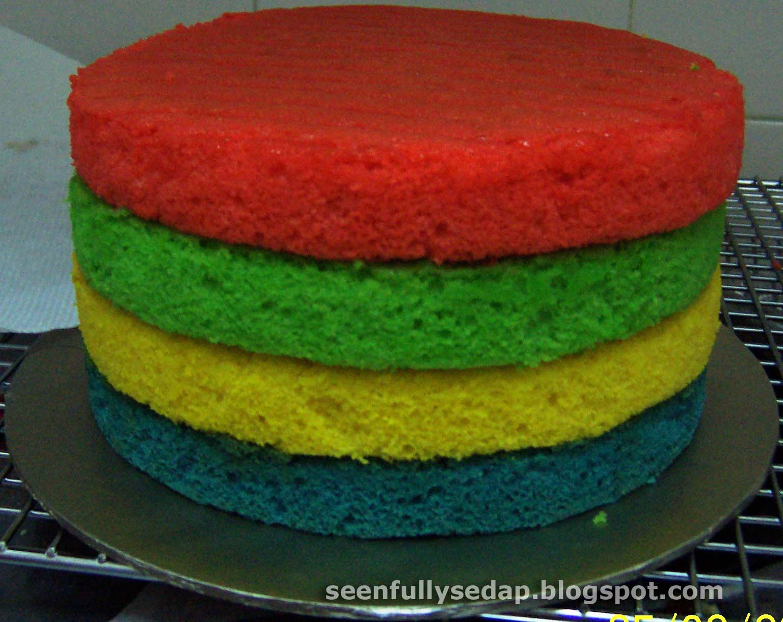 Multi Colored Cake 28 Images Here S How To Make A