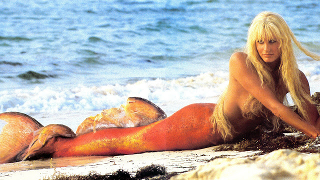Daryl Hannah Splash Mermaid Tail Maryam Maquilla...