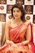 Pranitha glamorous photos at VRK Silks-thumbnail-10