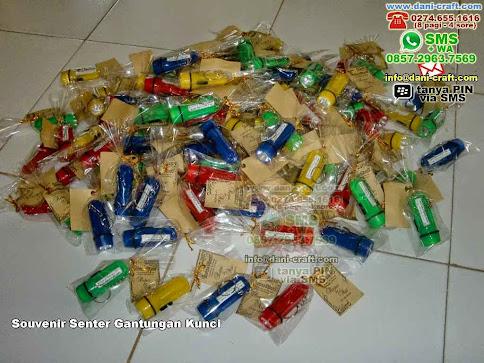 Souvenir Senter Gantungan Kunci Plastik Padang