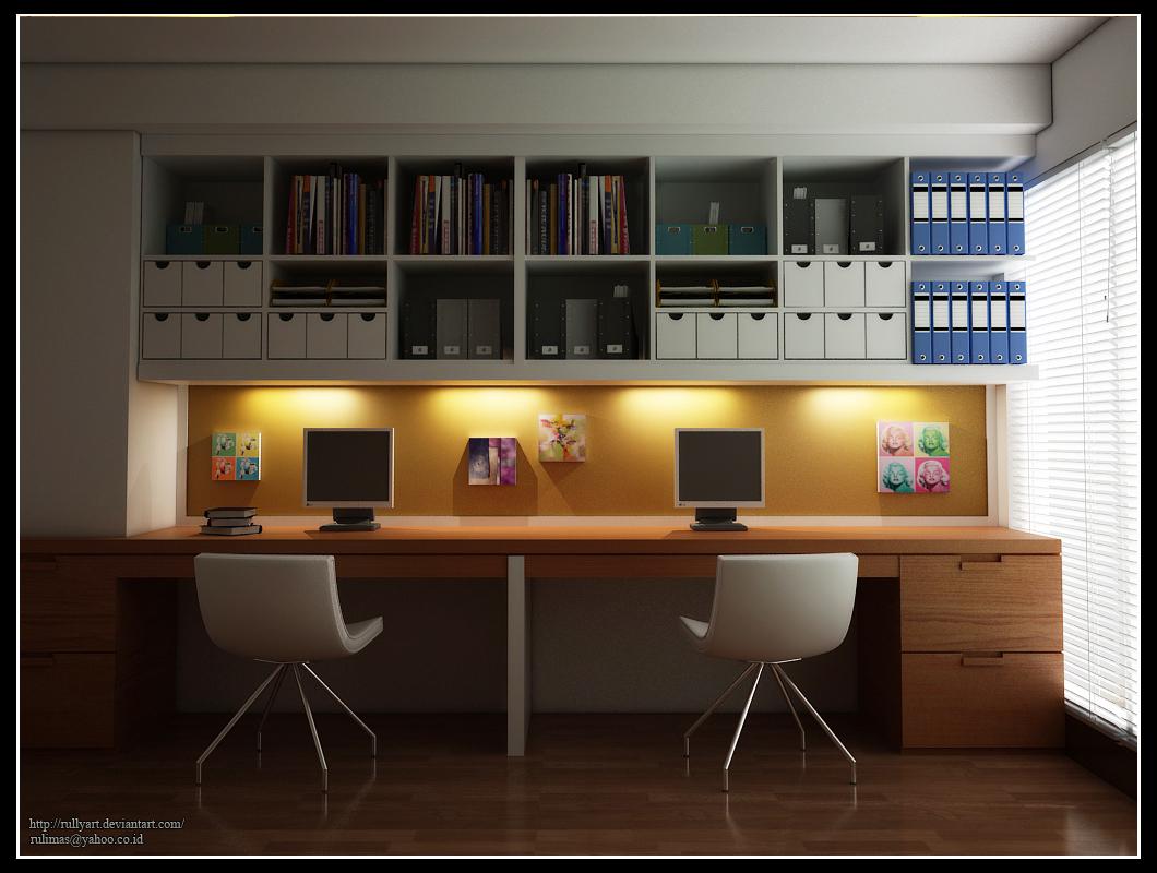 Decora O Ideias Para Home Office Ou Quarto De Estudos Cores Da  ~ Mesas De Estudo Para Quarto Pequeno